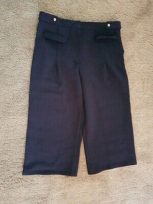 BRAND NEW NEXT GIRLS CULOTTES Trousers Navy Age: 11 Years