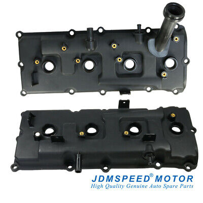 Set of Left & Right Engine Valve Cover With Gaskets KIT For Nissan Infiniti QX56