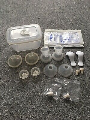 USED: Tommee Tippee 2x Breast Pumps And Steriliser With New Valves