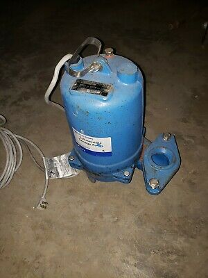 GOULDS WS0511BF Submersible Sewage Pump 1/2hp 185gpm