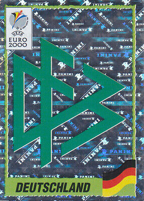 192 DEUTSCHLAND BADGE NEW WITH BLACK BACK TOP MINT!! Panini EURO 92 N