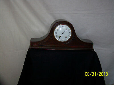 New Haven Conn., Antique New Haven Tambour Mantle Clock