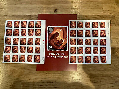 Royal Mail First Class Christmas Edition Stamps 1st