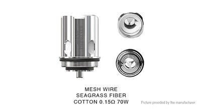 Authentic EHPRO Raptor Replacement Single Mesh Coil Head (3-Pack)