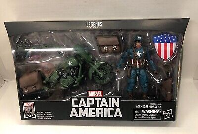 Marvel Legends NEW * Ultimate Captain America & Motorcycle * 6-Inch IN STOCK