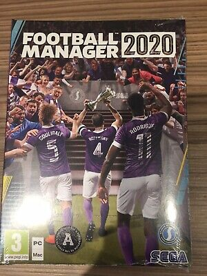 Football Manager 2020 (PC)  BRAND NEW AND SEALED No Reserve❗️QUICK DISPATCH❗️✅