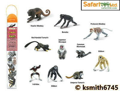 Safari VENOMOUS CREATURES TOOB toy wild zoo sea animal tube BUNDLE of 9 NEW