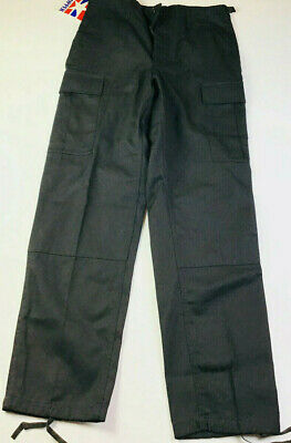 Propper BDU Trouser/Combat 9500 Button Fly Black (Size Small)