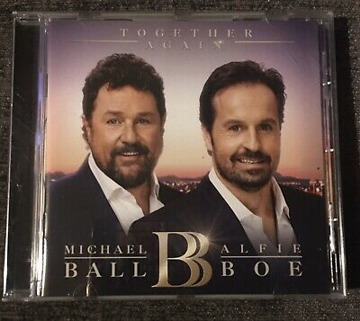 Together Again Cd Album Michael Ball & Alfie Boe Bow Excellent Condition