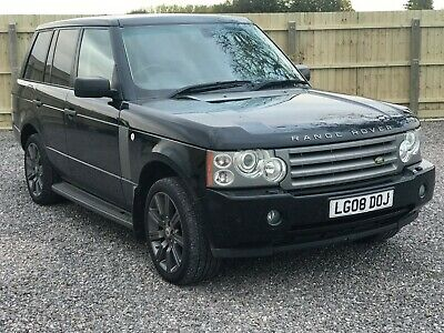 2008 Land Rover Range Rover Vogue Tdv8 Leather Fsh Low Miles 3 Owners Proper