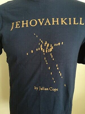 Vintage 1992 JULIAN COPE JEHOVAKILL T Shirt Teardrop Explodes Size MEDIUM
