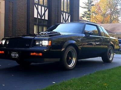 1987 Buick Grand National  THIS IS THE ONE, RAREST OF ALL GRAND NATIONALS! EVEN THE GNX AND 1982 GN!