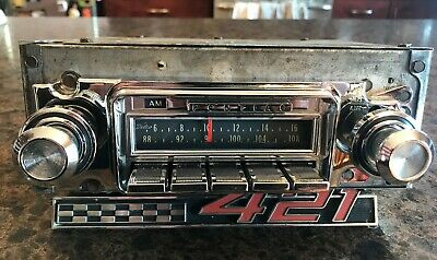 """SERVICED"" 1966 PONTIAC GTO LEMANS TEMPEST AM FM RADIO 66 67 1967 am/fm"