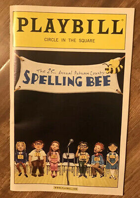Broadway THE 25TH ANNUAL PUTNAM COUNTY SPELLING BEE Playbill 2007