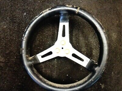 Kart Retro Historic Steering Wheel & Boss Rotax Tkm X30 F100 Kf