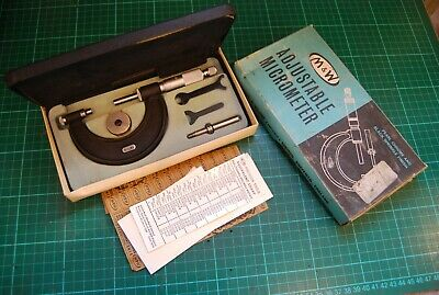 Moore and Wright metric micrometer. 0-50mm VGC used condition