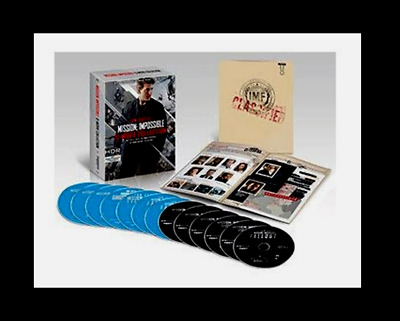 Mission: Impossible 6 Movie Collection 4K Ultra HD Movie Box Set NEW SEALED