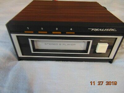 Realistic 8 Track Player, model 14-935 TR-169