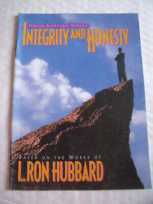 Integrity And Honesty Pb, L. Ron Hubbard Scientology Handbook Booklet