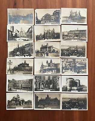 Anonymous cigarette cards Belgian Views
