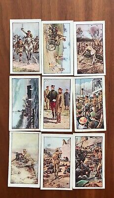 Wills war incidents CIGARETTE CARDS