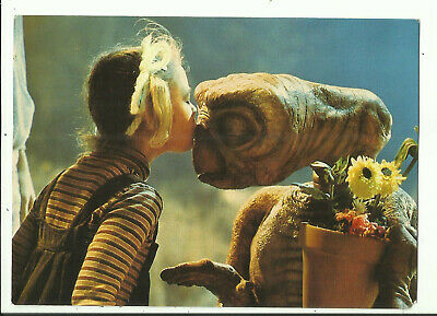 Postcard - E.T. - The Extra Terrestrial, from the Movie, Drew Barrymore - 1982