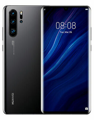Huawei P30 Pro VOG-L29 - 256GB - Black (Unlocked) (8GB RAM)