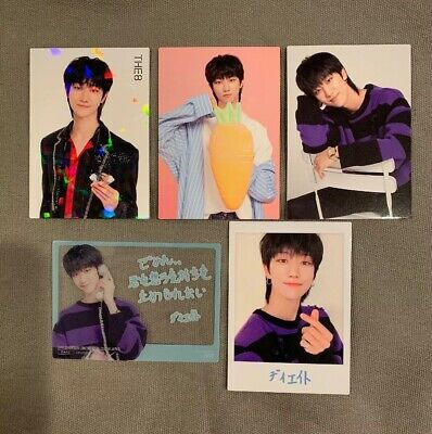 Seventeen The8 Minghao OFFICIAL Ideal Cut Japan Full Set Photocards SVT