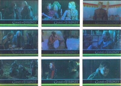 Game Of Thrones Series 2 Parallel Trading Card Set