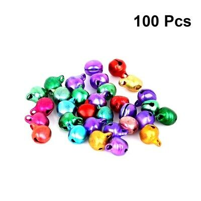 100pcs 10mm Small DIY Craft Party Decoration Jewelry Ornaments Xmas Tree Pendant