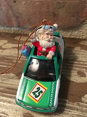Matrix Industries Nascar Santa Mistletoe Magic Collectible Ornament NIB