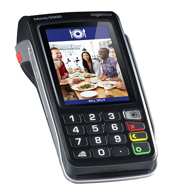 INGENICO MOVE 5000 EFTPOS Machine Credit Card Reader Terminal Contactless NFC