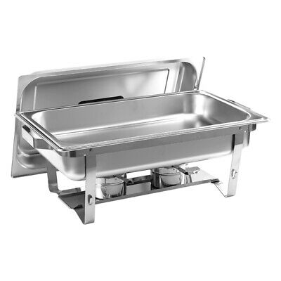 6L Stainless Steel Chafing Dish Party Cater Food Warmer Buffet Stoves Restaurant