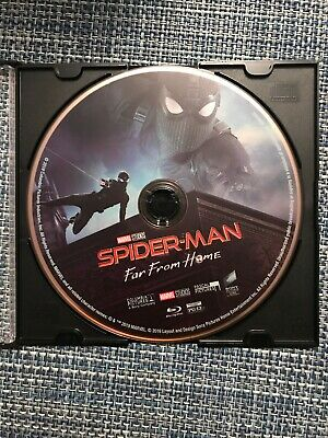 Spider-Man: Far From Home 2K Blu-ray Disc & Jewel Case ONLY (Disc is NEW/UNUSED)