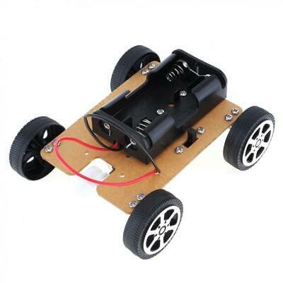 DIY Mini Car of Science Technology Hand-made  Educational  Assembly Smart Car