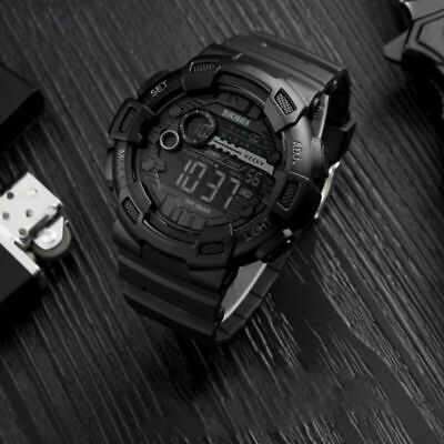 SKMEI Men's Military Digital Tactical Sport Alarm Chrono Shock Wrsit Watch USA