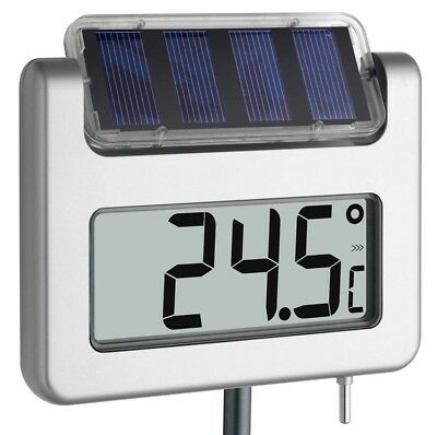 Termómetro de Jardín Avenue Tfa 30.2026 Solar-Leucht-Lcd 940mm Gross-Display
