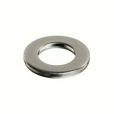 USS Flat Washer 18-8 Stainless Steel, choose size (1/4, 5/16, 3/8, 1/2)