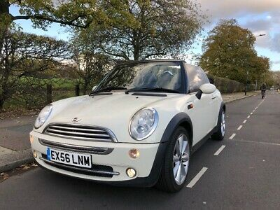 Mini Cooper convertible 2006 low mileage in stunning condition