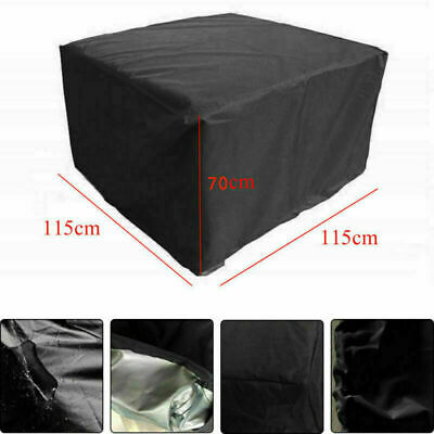 Garden Outdoor Dust UV Rain Cover Waterproof Rattan Cube Furniture Decoration