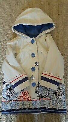 Gorgeous Girls Strawberry Faire Kids Age 3-4 Raincoat / Coat Fleece Lined