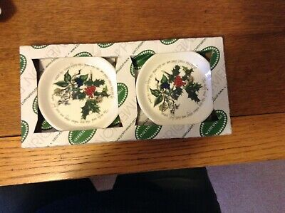 Portmeirion - The Holly & The Ivy pretty Sweet Dishes new in box