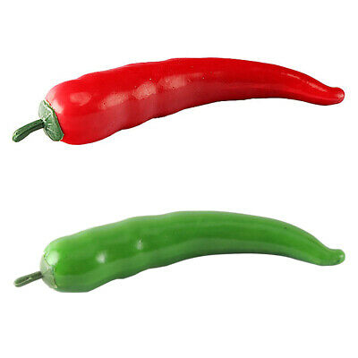 Artificial Vegetables Chili Simulation Chili Decors Kitchen Photography Props