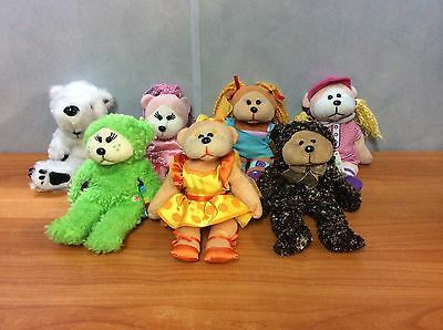 Lot of 7 Skansen Beanie Kids