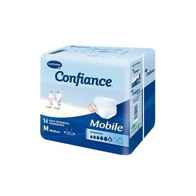 Hartmann Confiance Mobile 6 outtes Extra Large  14 slips absorbants
