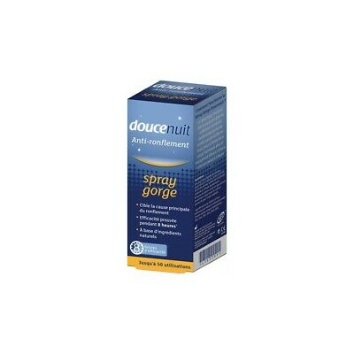 Douce Nuit Anti-Ronflement Spray Gorge 23,5ml