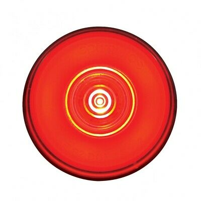 """6 Red Led"""" Clearance/Marker """"Glo"""" Light - Red Lens"""