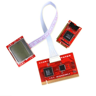 1Pc tablet pci motherboard analyzer diagnostic tester post test card IO