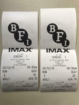 Star Wars: The Rise of Skywalker cinema tickets at BFI IMAX London 3D