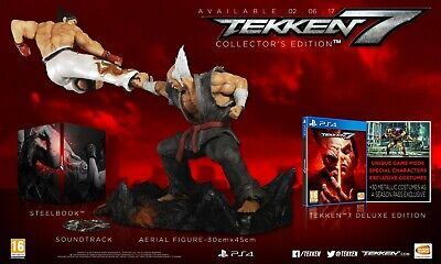 Tekken 7 Playstation 4/Ps4 Exclusive Collectors Limited Edition Game New &Sealed